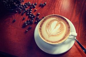 Káva a Latte art